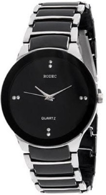RODEC Raddo Look RD Silver- Black chain Analog Watch  - For Boys, Men