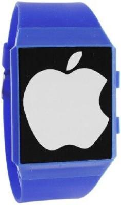 Frenzy FrameApple_002_Blue Digital Watch  - For Men, Women, Boys, Girls