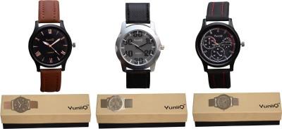 YuniiQ YUN43 Analog Watch  - For Men
