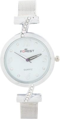 Addic Forest Diamond String Strap Round Dial W-118 Analog Watch  - For Women