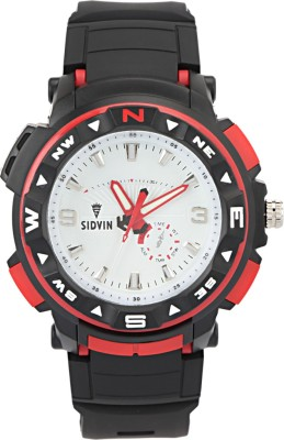 SIDVIN AT6042RDW Youth Series Analog Watch  - For Boys, Men