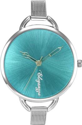 Eleganzza Vibrant AquaBlue Fashion Casual Analog Watch  - For Women, Girls