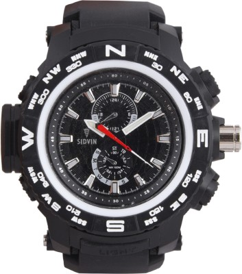 SIDVIN AT6051BKB Youth Series Analog Watch  - For Boys, Men