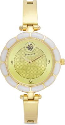Sonata 8120YM04 Sitara Analog Watch - For Women