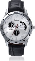 JAINX JMR173 Silver Dial With Chronograph Pattern Analog Watch
