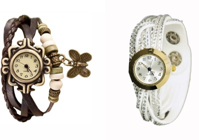 COSMIC COSMIC PACK OF 2 WOMEN BRACELET WATCHES SH 04 Analog Watch  - For Girls