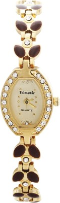 Telesonic GCI-004 (Gold) Integrity Analog Watch  - For Women