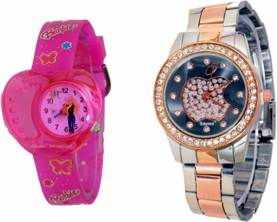 SOOMS LO7654 Analog Watch  - For Girls, Women