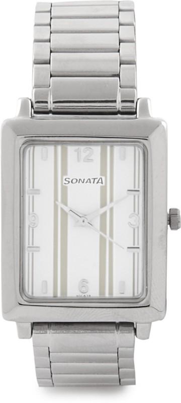 Sonata NG7078SM13C Analog Watch For Men