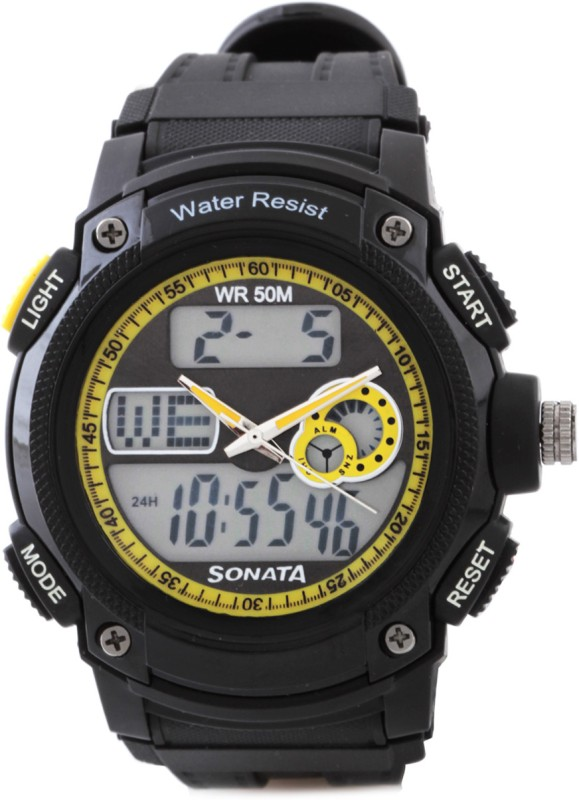 Sonata NH7989PP02J Ocean Analog Digital Watch For Men