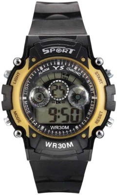 kem Flow Gold 301 Digital Watch  - For Boys