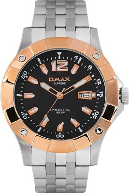 Omax SS364 Male Analog Watch  - For Men