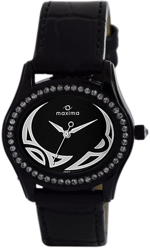 Maxima 29571LMLB Attivo Analog Watch For Women