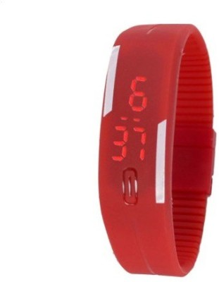 Gypsy Club Rubber Magnet Led Sports Digital Watch  - For Boys, Men, Girls