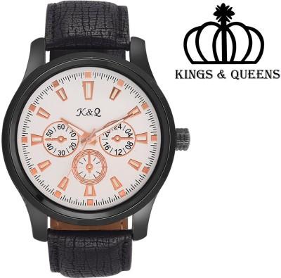 K&Q KQ001M Regium Analog Watch  - For Men