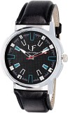 Sir Time Stylish Black Analog Watch  - F...