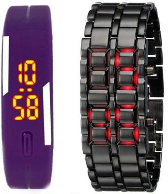 Adamo ADBDLEDPR Combo Digital Watch  - For Couple