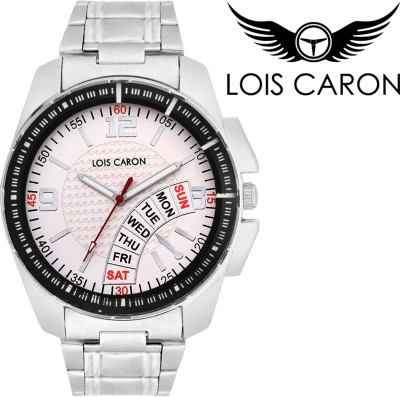 Lois Caron LCS-4099 DATE & DAY PATTERN Analog Watch  - For Boys, Men