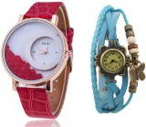 Mxre Red-Blue-37 Analog Watch  - For Wom...