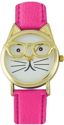 RBS Online Trading Company CatDial_PINK 008 Analog Watch  - For Women, Girls