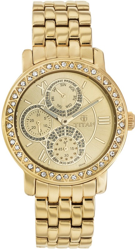 Titan NF9743YM02J Analog Watch For Women