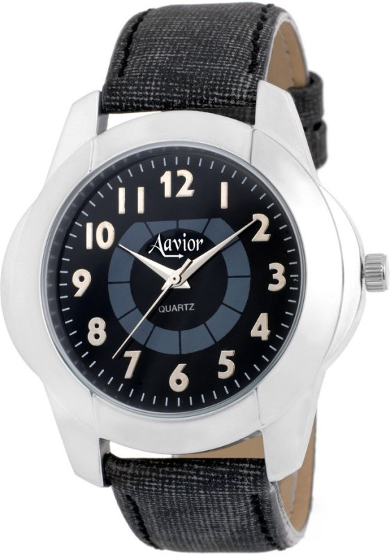 Aavior Fashion Black AA179 Analog Watch For Men