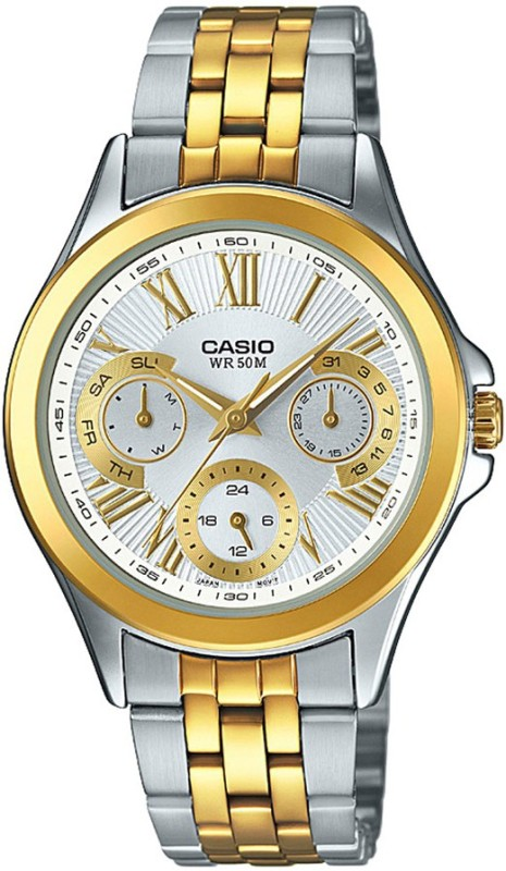 Casio A1065 Enticer Ladies Analog Watch For Women