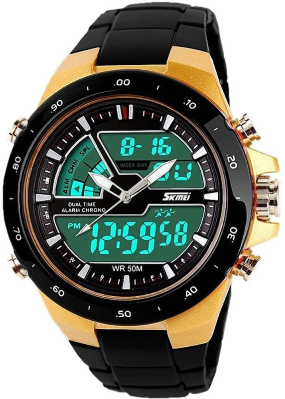 DSC Skmei 1016 G Chronograph Analog Analog Digital Watch For
