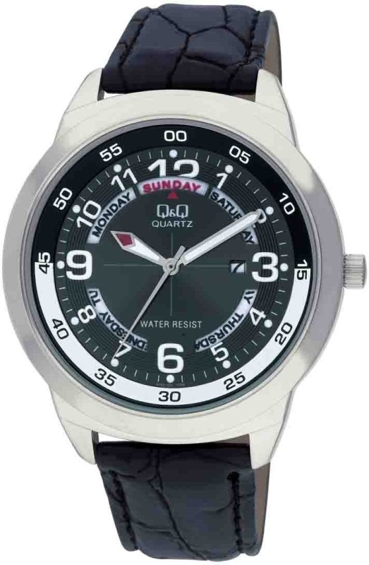 QQ A148J305Y Analog Watch For Men WATDMCPB5ZT4G2UW