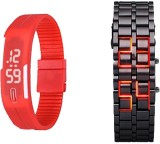 Mify MFY65_RD_ (D)BLK Digital Watch  - F...