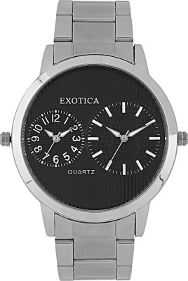 Exotica Fashions EF-55-Dual-ST Basic Analog Watch  - For Men