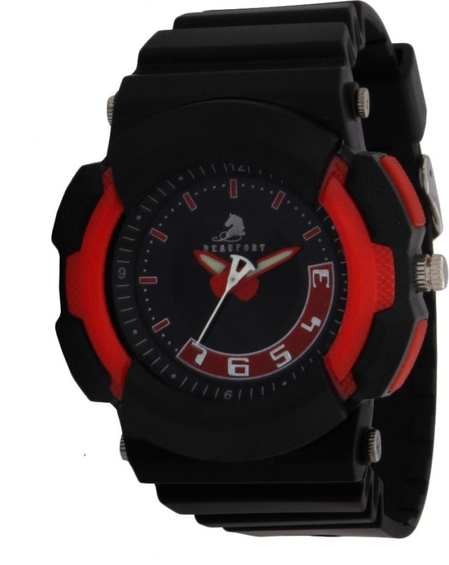 Beaufort BT 1153 RED BLK1084 Analog Watch For Men