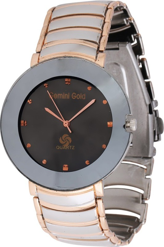GEMINI GOLD GOLD 1210 Party Analog Watch For Men