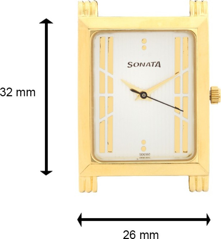 Sonata 77036bm02J Analog Watch For Men