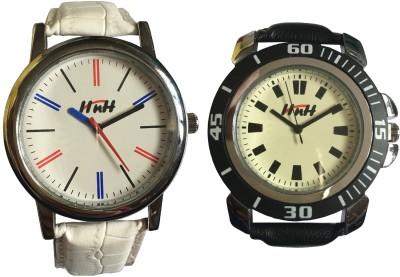 Arc HnH AW2MW-3SBl Analog Watch  - For Women, Girls, Men, Boys, Couple