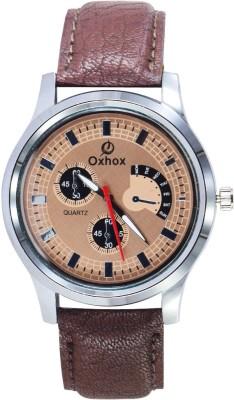 Oxhox g37A- Chronograph Pattern Analog Watch  - For Men, Boys