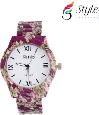 Style Feathers Kimio-Purple006 Analog Watch  - For Girls