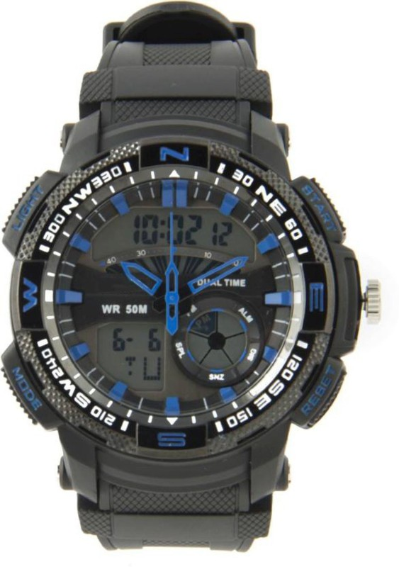 PredictWay 1109BLU SKMEI Analog Digital Watch For Men