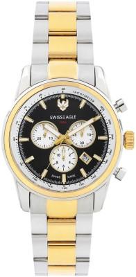 Swiss Eagle SE-9068-22 Analog Watch  - For Men