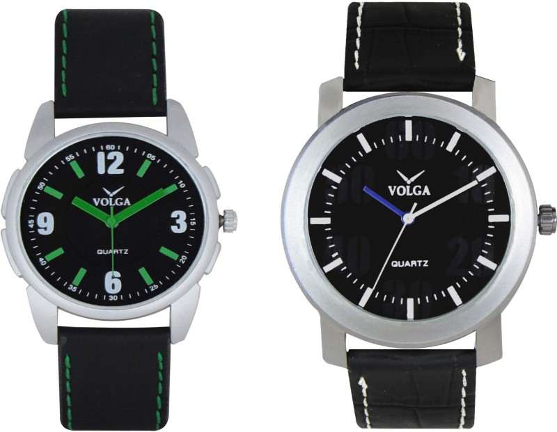 VOLGA Branded Leather Quality Designer Dial Diwali WATEN6XKEKCFZ35R