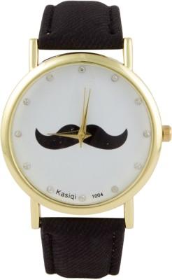 COSMIC Moustache Unisex Analog Wrist Watch- black Strap Analog Watch - For Boys, Men, Girls