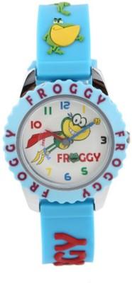 Fantasy World Froggy Kids Analog Watch  - For Boys, Girls
