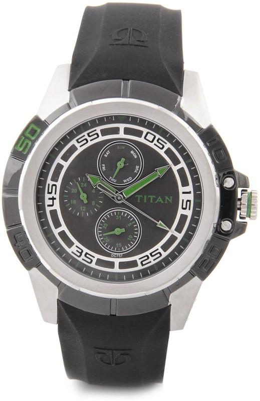 Titan 9467KP02 Octane Analog Watch For Men