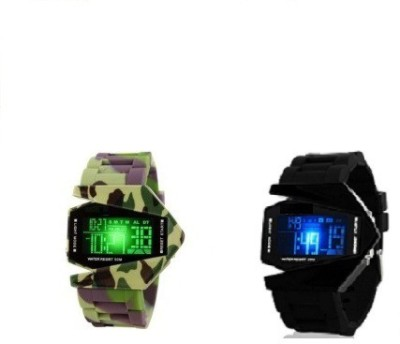 Users 2_3DARM Okey Kuttu_Kids-DEL to DSS Always in Stylish Fun Digital Watch  - For Boys, Men, Girls, Couple
