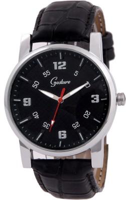 Gesture Gesture Elegant 5039-Bk Watch For Men Elegant Analog Watch  - For Men