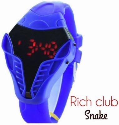 Rich Club Snake Shaped LED Digital Watch  - For Boys, Girls