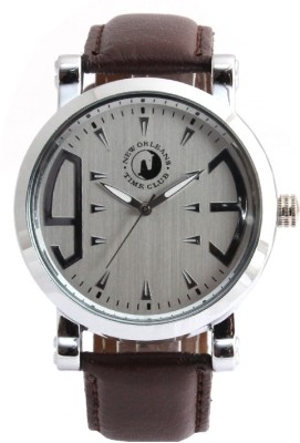 New Orleans Time Club NOR-024-SIL_008 Analog Watch  - For Men