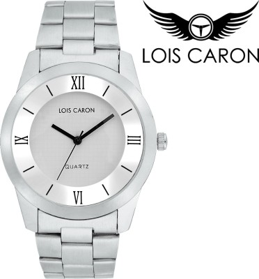 Lois Caron LCD - 4083 AWESOME WHITE Analog Watch  - For Boys, Men