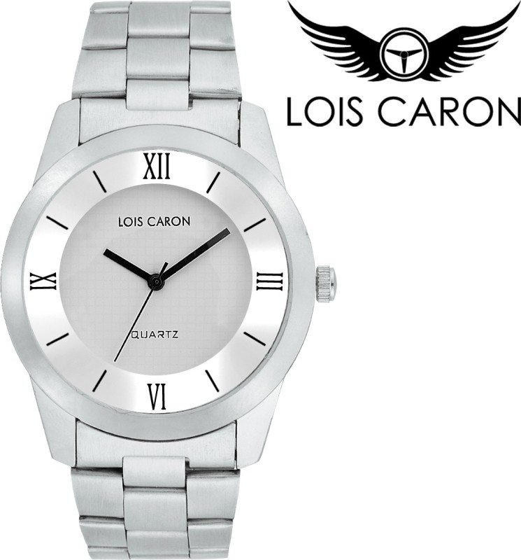 Lois Caron LCD 4083 AWESOME WHITE Analog Watch For Men