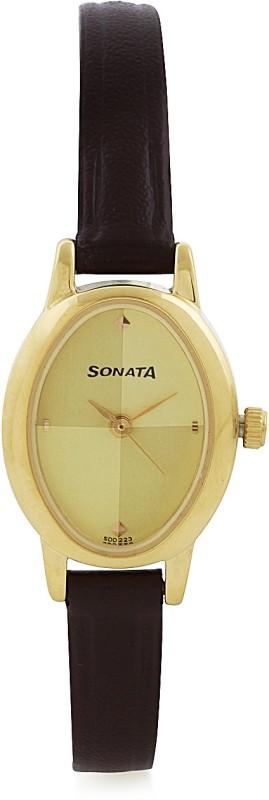 Sonata 8100YL02C Analog Watch For Women